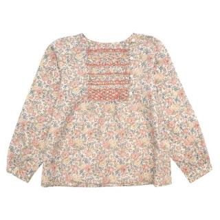 Bonpoint Floral Girls Blouse