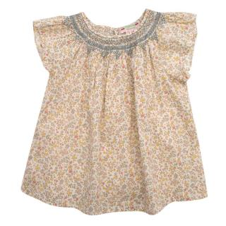 Bonpoint Floral Babydoll Top