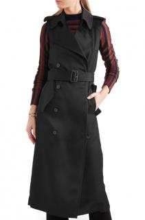 Victoria Beckham Sleeveless Twill trench coat