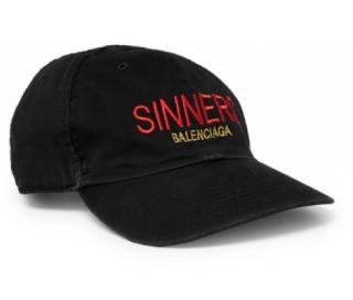 Balenciaga Sinners Embroidered Cap