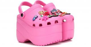 Balenciaga x Crocs embellished platform sandals