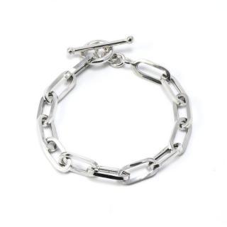 Idandi Sterling Silver Link Handmade Bracelet