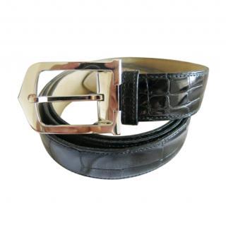 Cartier Black Alligator VIP Belt