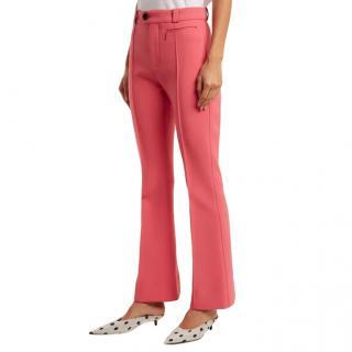Kwaidan Editions Pink Zermatt Kick Flare Trousers