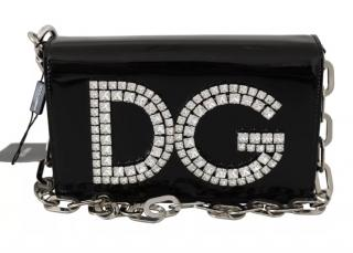 Dolce & Gabbana DG Girls Crystal Embellished Clutch