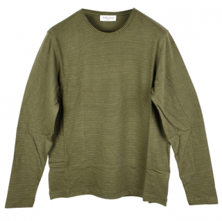 YMC Green Striped Sweatshirt