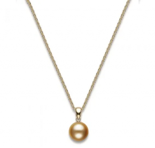 Mikimoto Golden South Sea Pearl pendant in 18k yellow gold