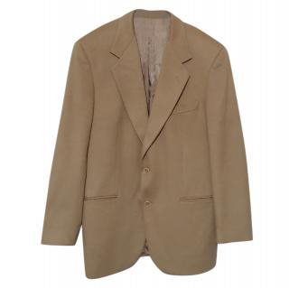 Cerruti 1881 camel wool blend blazer