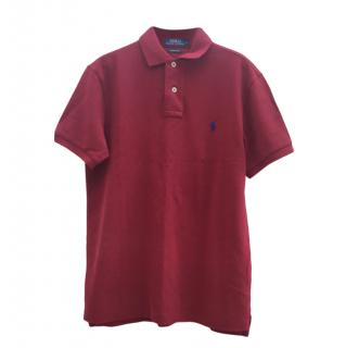 Polo Ralph Lauren red polo shirt