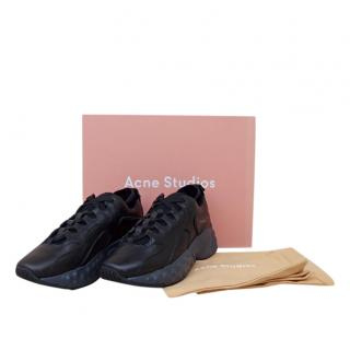 Acne Studios black Rockaway trainers