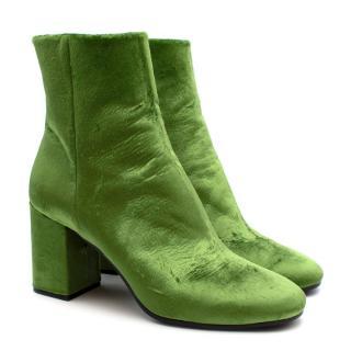 Balenciaga Ville Emerald Green Boots
