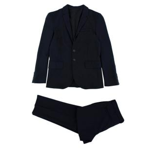 Dior Kids 12Y Navy Blue Tailored Two-Piece Suit