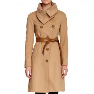 Mackage Camel Wool Belted Coat