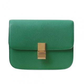 Celine Grained Goatskin Medium Box Bag
