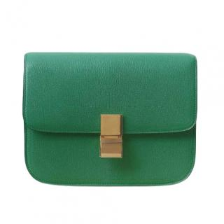 Celine Grained Goatskin Medium Box Bag