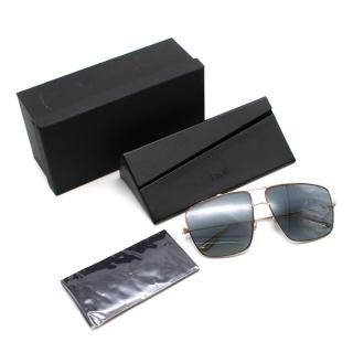 Dior Monsieur 2 Aviator Style Sunglasses