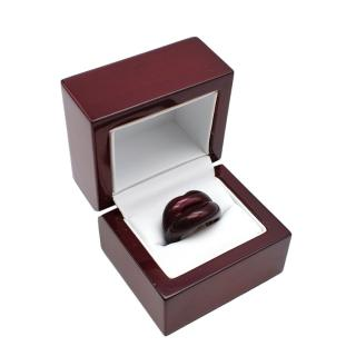 Solange Azagury-Partridge Black Cherry Hotlips Ring
