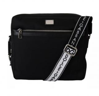 Dolce & Gabbana Leather Black Satchel