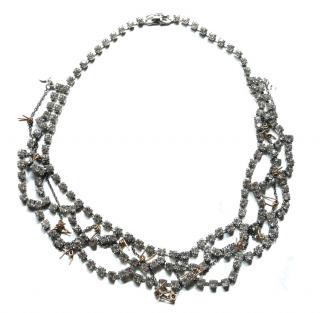 Tom Binns vintage crystal necklace