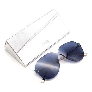 Dior Colourquake1 Oversized Blue Sunglasses