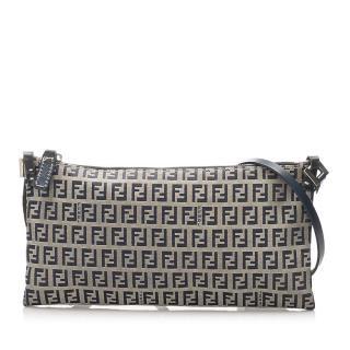 Fendi Monogram Canvas Crossbody Bag