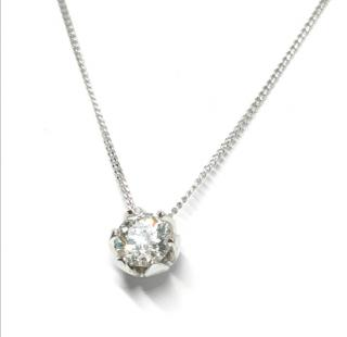Theo Fennell Periwinkle Collection flawless diamond pendant