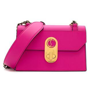 Christian Louboutin Pink Elisa Mini Leather Shoulder Bag