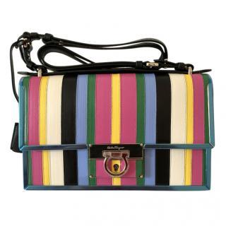 Ferragamo Aileen Striped Multicoloured Aileen Bag