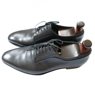 Dior Hand Patina Leather Oxfords