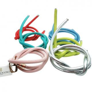 De Grisogono Interchangeable Multi-Coloured Corded Bracelets