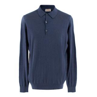 John Smedley Belper Cashmere Polo Shirt