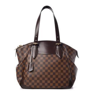 Louis Vuitton brown Damier Ebene Verona GM shoulder bag