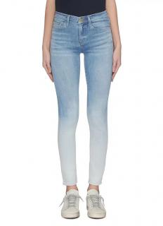 Frame Le High Skinny gradient dyed skinny jeans