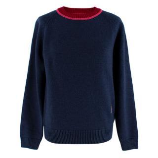 Mira Mikati 'Wake Up' Patches Sweater