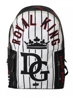 Dolce & Gabbana Striped DG King Backpack