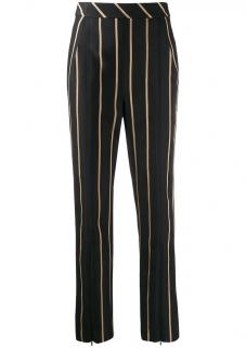 Self Portrait Tailored Striped Trousers