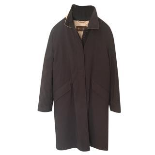 Loro Piana Storm System Black Rain Coat