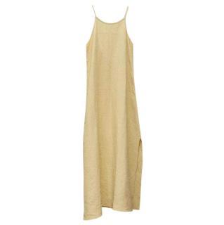 Arkitaip Trude linen lemon dress