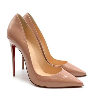 Christian Louboutin So Kate Beige 120 Pumps