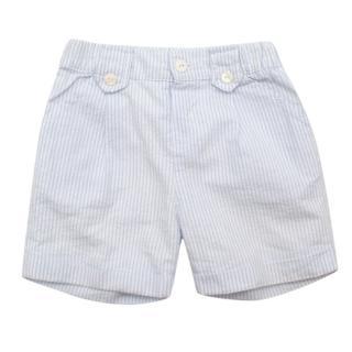 Patachou Baby Blue Pin Striped Shorts