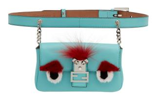 Fendi Micro Monster Baguette Belt Bag