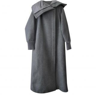 Max Mara Virgin Wool Oversize Puffer Coat