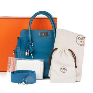 Hermes Evercolor Toolbox 26 in Blue Izmir