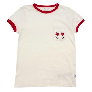 Stella McCartney Kids Ladybug Embroidered T-shirt