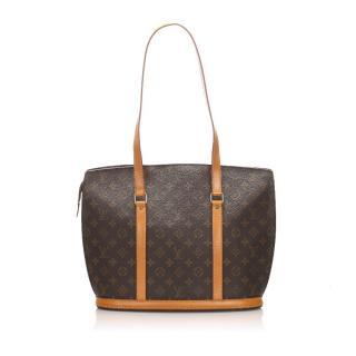 Louis Vuitton Monogram Babylone Tote Bag