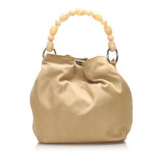 Christian Dior Malice Nylon Top Handle Bag