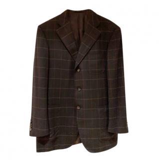 Pal Zileri Sartoriale charcoal cashmere jacket