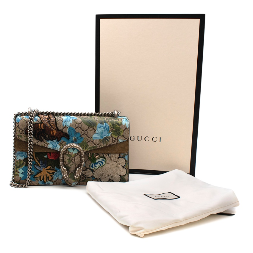 Gucci Blooms Dionysus Embroidered Small Shoulder Bag