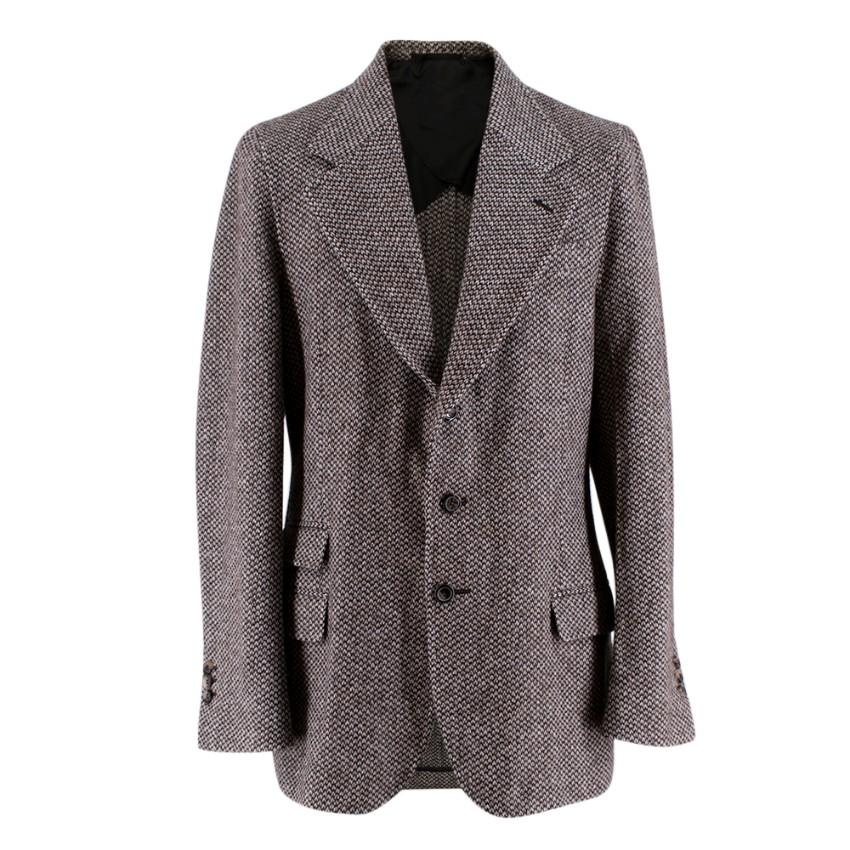 Yves Saint Laurent Tweed Tailored Jacket