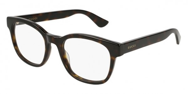 Gucci Dark Havana Optical Glasses